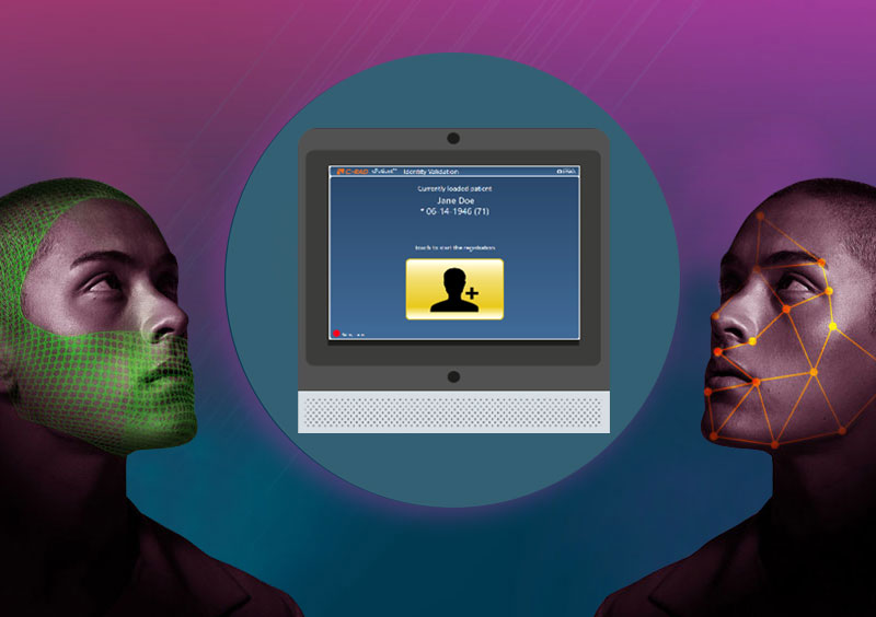 cPatient Gesichtsscan